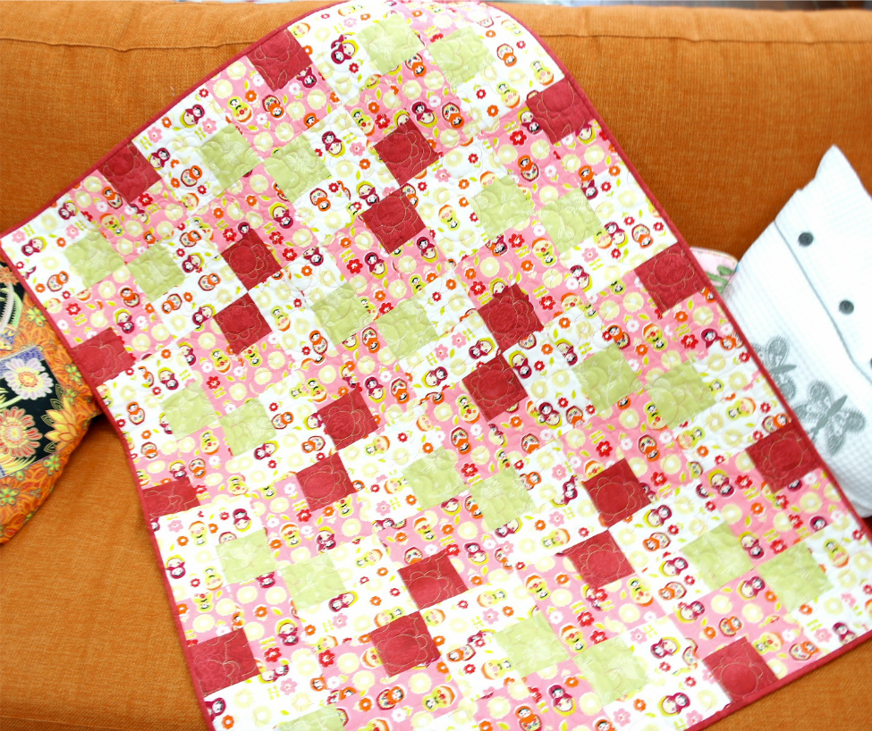 Beginner Patchwork Making A Baby Quilt