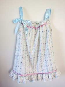 A sweet and simple pillowcase dress made in Daytime Absolute Beginners
