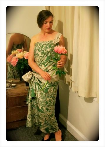 1924 Green Goddess dress thedreamstress.com