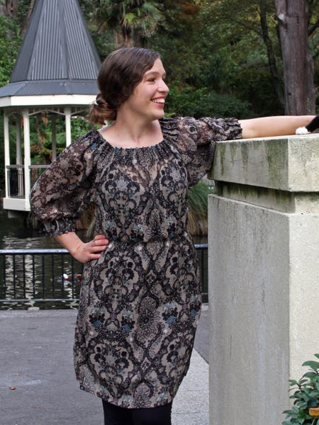 The Scroop Patterns Henrietta Maria Dress