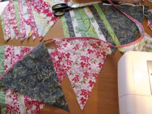 Make Your Own Bunting, Made on Marion