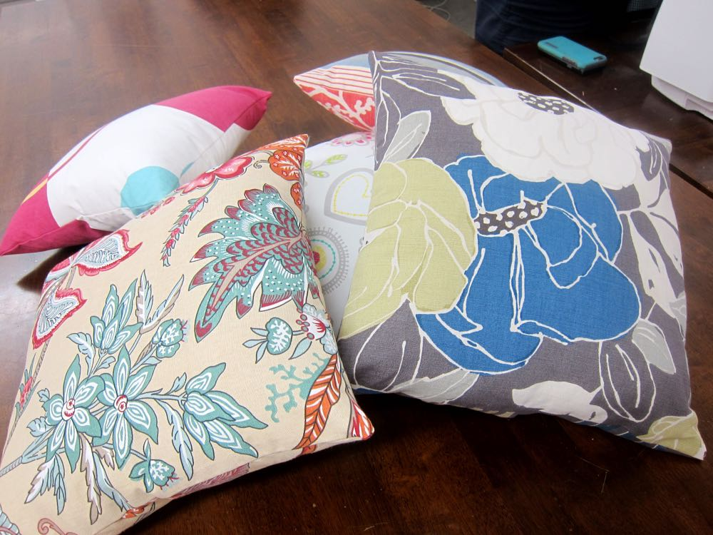 Cushion covers - Absolute Beginners Sewing
