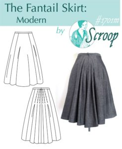 Fantail Skirt Scroop Patterns