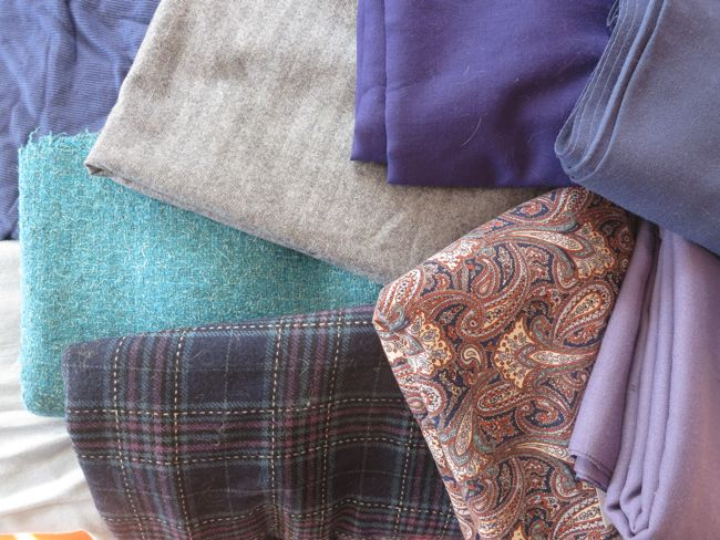 Worsted & woolen fabrics