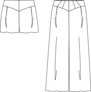 Vintage inspired 1930s Palazzo Pants & Shorts Class at Made on Marion