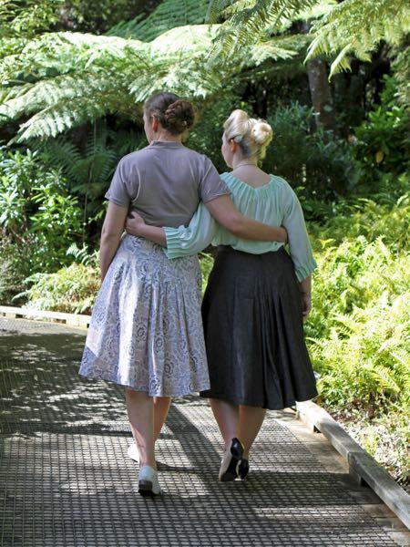 Fantail Skirt Scroop Patterns
