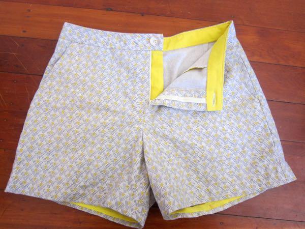 Sewing shorts, sewing class, shorts class