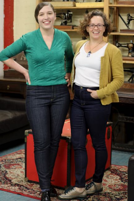 Sewing Jeans: Fit & Finish at Made Marion Craft