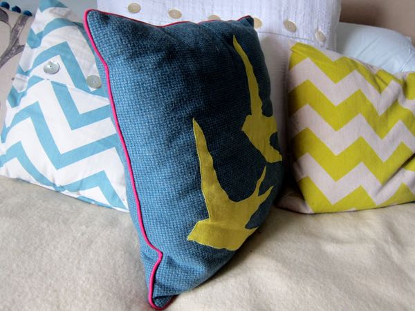 Cushion Covers w piping